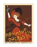 Absinthe Ducros Fils  1890