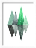 Geometric Art 8 Reproduction encadrée par Pop Monica