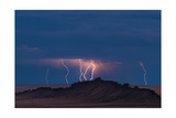 Storm Over Shiprock Dike New Mexico