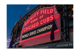 Wrigley Field World Series Marquee