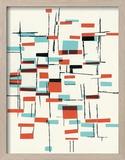 Abstract pattern Reproduction encadrée par Pop Ink - CSA Images