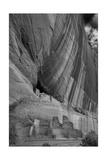 White House Ruins Canyon De Chelly B W