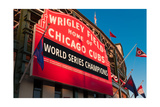 Wrigley Field World Series Marquee Angle