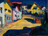 Murnau Burggrabenstrasse  1908