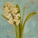 Hyacinth on Teal I