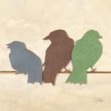 Birds III (assorted colors)