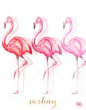 Fashion Flamingos II