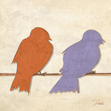 Birds I (assorted colors)