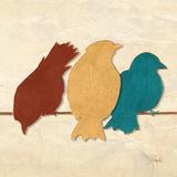 Birds II (assorted colors)
