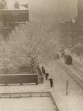 Snapshot From My Window  New York  1907