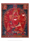 Dancing Red Ganapati of the Three Red Deities  15-16th c