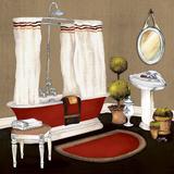 Red Master Bath II
