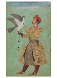 Prince With a Falcon India  c 1600 - 05