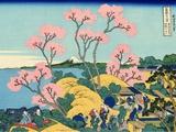 The Fuji from Gotenyama at Shinagawa on the Tokaido