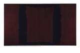 Mural  Section 3 {Black on Maroon} [Seagram Mural]
