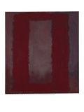 Mural  Section 4 {Red on maroon} [Seagram Mural]