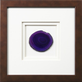 *Exclusive* York Framed Agate - Purple *
