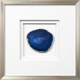 *Exclusive* Siena Framed Agate - Blue