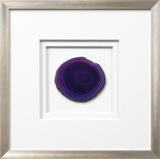 *Exclusive* Siena Framed Agate - Purple