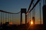 Verrazano Narrows Bridge  Sunset  2017 (Photograph)