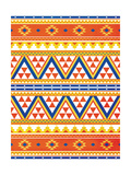 Aztec Pattern Colors