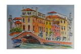 Venice  Canal  Dorsoduro  2015