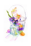 Egg Basket with Flowers  2014