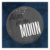 Aim For The Moon Reproduction d'art par Jace Grey