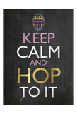 Easter Chalk Hop To It
