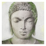 Peaceful Buddha Green