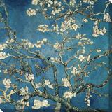 Almond Blossom  1890 (Deep Teal Color Variation)