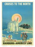 Cruises to the North - North Pole and the Arctic - Hamburg-American Line HAPAG