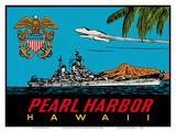 Pearl Harbor Hawaii - US Navy Destroyer Battleship