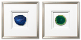 *Exclusive* Siena Framed Agate Blue Set