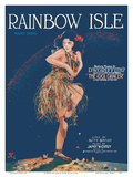 Rainbow Isle Song - Featured Theme Song in DW Griffith's Film The Idol Dancer