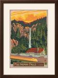 Multnomah Falls Lodge  Oregon