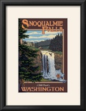 Snoqualmie Falls by Day  Washington