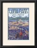Luna Park Scene  Seattle  Washington