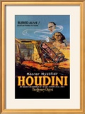 The Literary Digest: Houdini Buried Alive