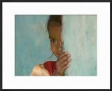 Portrait of Little Girl  Orissa  India