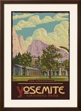 Ahwahnee Lodge  Yosemite National Park  California