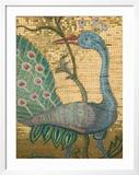 Peacock Mosaic  Eleftherotria Monastery  Macherado  Zakynthos  Ionian Islands  Greece