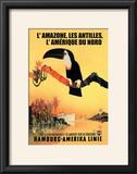 The Amazon  Antilles  and North America: Hamburg-Amerika Cruise Line