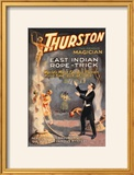 East Indian Rope Trick: Thurston the Famous Magician