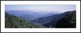 Mountain Vista from Blue Ridge Parkway  NC