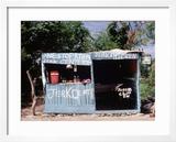 Jerk Chicken Stand  Negril  Jamaica