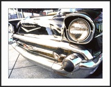 Detail of Classic Car  57 Chevy