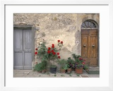Tuscan Doorway in Castellina in Chianti  Italy