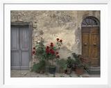 Tuscan Doorway in Castellina in Chianti  Italy