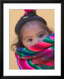 Portrait of a Young Indian Girl  Cusco  Peru